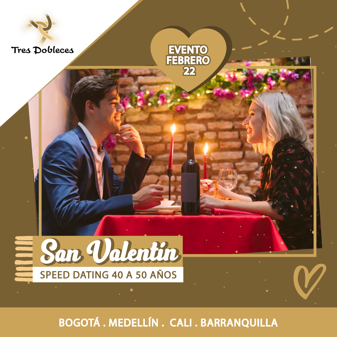 Speed Dating Colombia de San Valentin